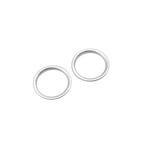 Preisvergleich Produktbild ABS Interior Tür Stereo-Lautsprecher Ring Verkleidung 2Für Auto Zubehör mzx5