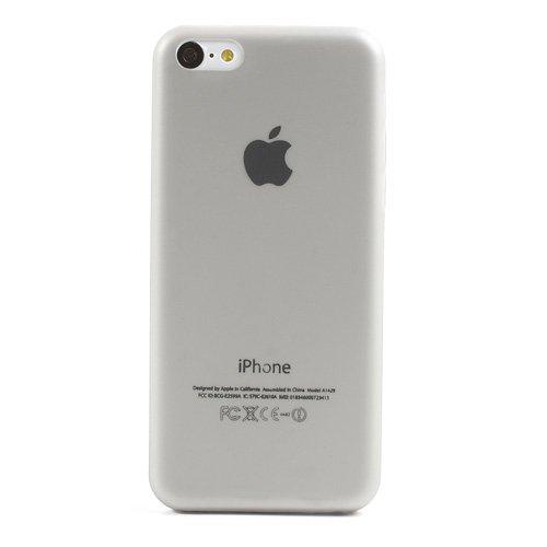 iProtect Schutzhülle iPhone 5c Hardcase ultra dünn grau grau