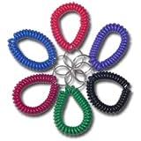 Spiralarmband - Regenbogenfarben - Wrist Coil ? rot