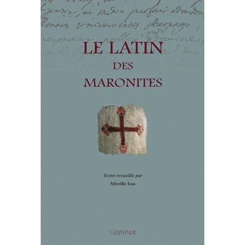 Le Latin Des Maronites