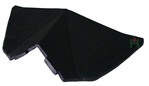 Deflettore stufa a legna in ghisa per stufa a carbone forno pietra forno | dimensioni: 485x 280mm