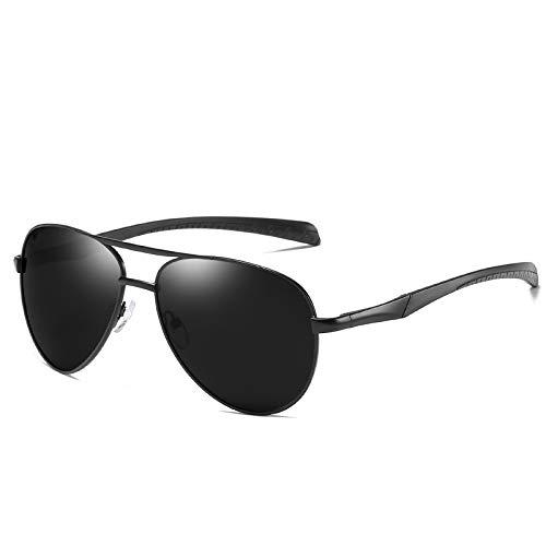 ZJHZJH Klassische Polarisierte Sonnenbrille Männer Designer Schattierte Frauen Pilot Driving Sun Glasses Mirrored Aviator Eyewear UV400