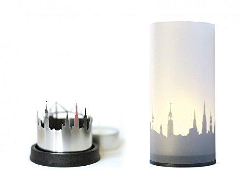 STADTLICHT Aachen Kerzenlicht mit Schattenwurf dekoop