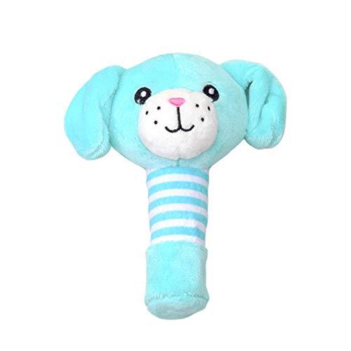 Mxdmai Perro del bebé Pequeño traqueteo de la felpa del bebé del pesebre, los juguetes colgantes...