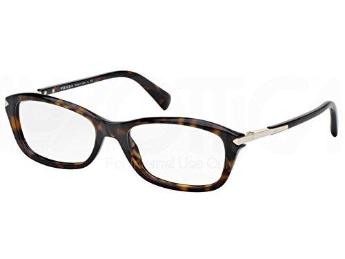 Prada Für Frau 04p Tortoise Kunststoffgestell Brillen, 52mm