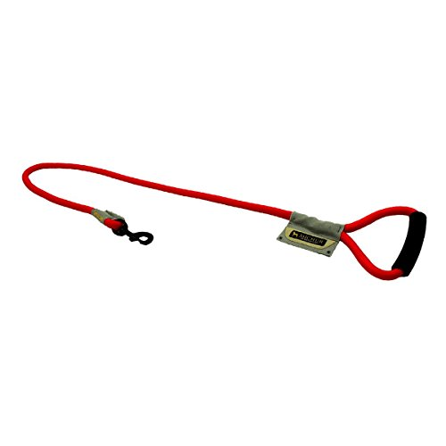 michur-wendy-red-nylon-lead-for-dogs-available-in-different-sizes