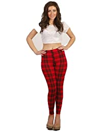 92901350878b9 Search results. 38 results for Clothing   DITZY FASHION. NEW LADIES TARTAN  PATTERN FULL LENGTH LEGGINGS JEGGINGS TROUSERS S M M L (ML