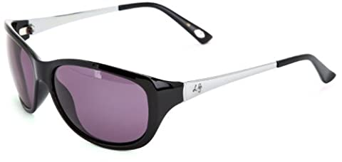 Lulu Guinness Damen L532 Schmetterling Sonnenbrille, Black