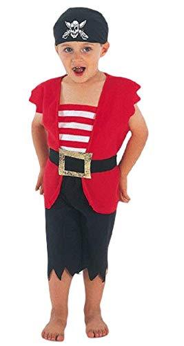 Fancy Me Jungen Mädchen Kinder Kinder Kleinkinder Piraten büchertag Verkleidung Halloween Kostüm Kleid Outfit 3 Jahre - Jungen, 3 Years