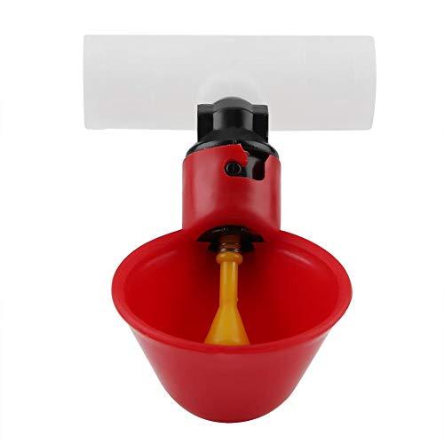FTVOGUE – Abbeveratoio Automatico al Pollo, con Tazze, Ciotole, Dispenser di Acqua Potabile, mangiatoia per Uccelli