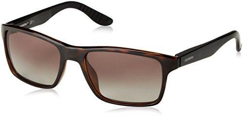 Carrera Unisex-Erwachsene 8002 LA Sonnenbrille, Schwarz (Havana Black), 54