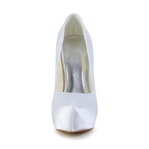 Jia Jia Wedding 20183 Scarpe Sposa Scarpe col tacco donna Bianco