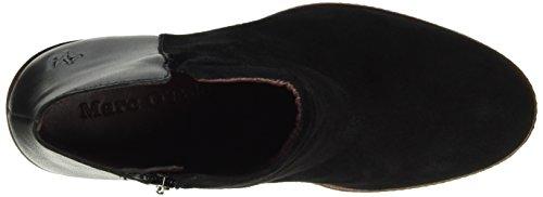 Marc O'Polo Damen 60713636201309 High Heel Bootie Chukka Boots Schwarz (black 990)