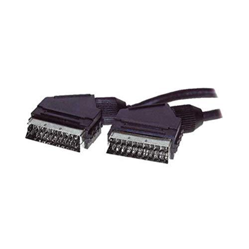 S-Conn 1 5m Scart 1 5m SCART (21-pin) SCART (21-pin) Negro cable  EUROCONECTOR - Cables EUROCONECTORES (1,5 m, SCART (21-pin), SCART  (21-pin), Macho,