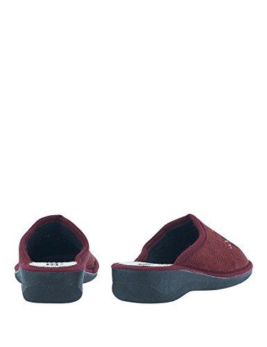 BITTER & SWEET Women's Women's Bordeaux Slippers Red