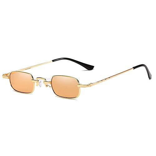 AAMOUSE Sonnenbrillen GoldSonnenbrille männer quadratischmetallrahmen grün schwarz kleinformat Sonnenbrille Frauen einheiten