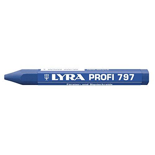 LYRA Försterkreide 797 Inhalt 12 Stück, blau, 4870051