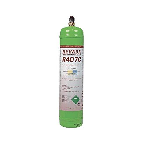 Preisvergleich Produktbild ORIGINAL 750ml bzw. 850g Nevada R407C Kältemittel Haushalt- und Gewerbegeräte Flüssiggas Zylinder Kühlschrank Gefrierschrank Füllung Klimamittel KFZ Klimaanlage Klima