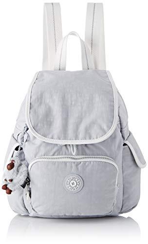 Kipling Damen CITY PACK MINI Rucksack, Grau (Active Grey Bl), 27x29x14 cm -