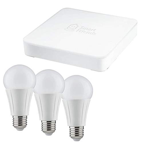 Paulmann Smart Friends LED Lampe E27 Einsteigerset, Dimmbar, Box + 3 Lampen