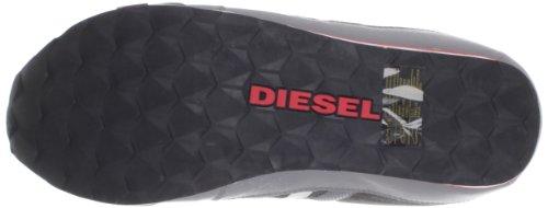 Diesel  Long Term Gunner Nylon, Baskets homme Gris / Gunmetal