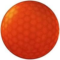 LiféUP Bola del Resplandor del Golf, Golf de la iluminación del LED 2Pcs LED Pelota de Golf de Noche, Night Golf Ball Reutilizable Practicar en Jardín