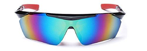 Embryform Herren Sonnenbrillen Reiten Fahrrad Fahrrad Fahrradfahren Eyewear Goggle Skifahren Angeln Sonne Gläser Outdoor
