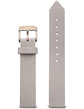 Cluse Damen Uhrenarmband La Roche Leder Grau CLS413