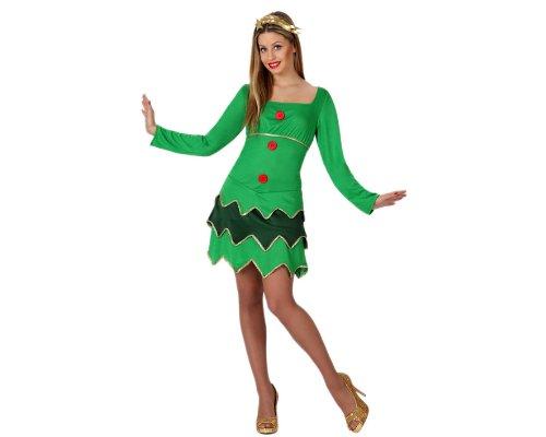 - Verkleidung Sexy Weihnachtsbaum, Erwachsene, Größe: 38/40 ()