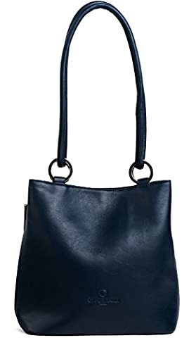 Offermann Shoulder Bag Bucket Bag M Ladies Tender Universe Blue [344] bleu