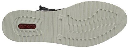 Rieker Damen Y5583 Chelsea Boots Rot (BORDEAUX/BORDEAUX / 36)