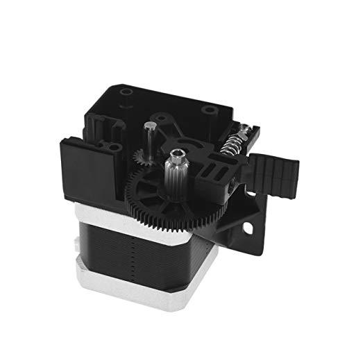 3D-Titan Extruder Full Kit mit NEMA 17 Schrittmotor für 3D-Druckerunterstützung 1,75 Direct Drive Bowden Montagehalterung (Schwarz) -