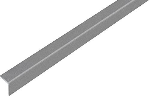 GAH-ALBERTS ángulo perfil-, auto-adhesivos, plástico, Gris Metálico, 1000x 20mm, 1pieza, 432928.0