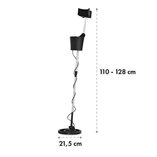 Duramaxx-MD-063-Waterproof-Underwater-Metal-Detector-Light-Weight-Space-Saving-Easy-to-Transport-215cm-Up-to-4m-Search-Depth-Adjustable-BlackSilver