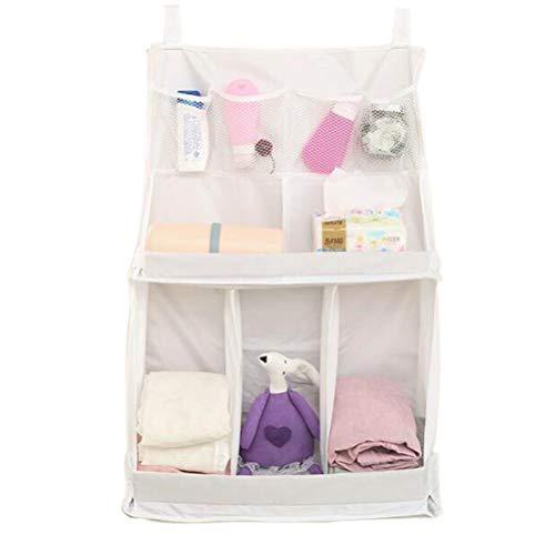 Eiseyen - borsa organizer da appendere, per bagno, cameretta e camera da letto small