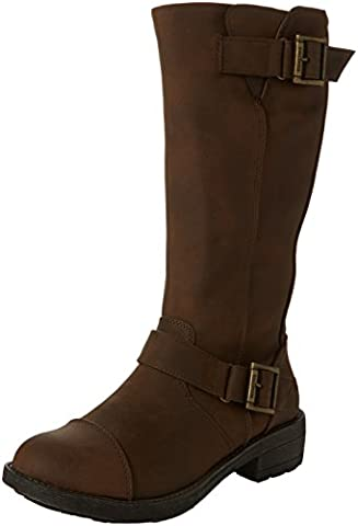 Rocket Dog Terry, Bottes Motardes femme - marron - Marron, 40