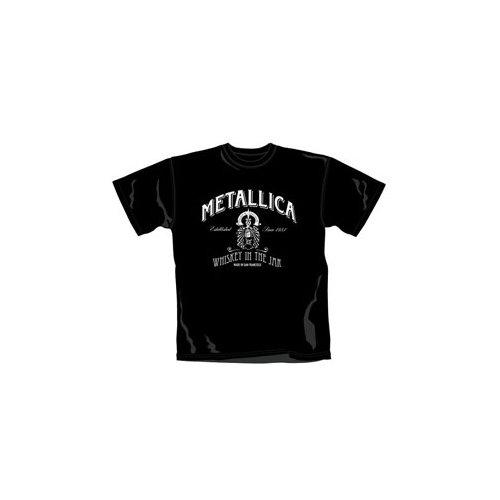 Metallica Whiskey In the Jar Camiseta Negro M