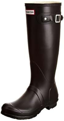 Hunter Original Tall Classic W23499, Unisex-Erwachsene Stiefel, Schwarz (BLACK-0BLK), 35/36