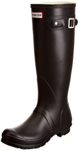 Hunter WFT1000R - Stivali da Pioggia Donna, Nero (Black), 38 EU