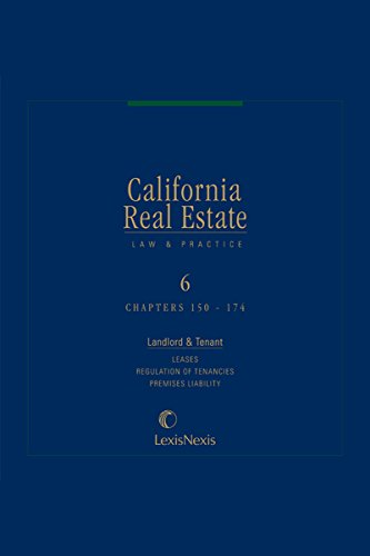 California Real Estate Law and Practice, Volume 6 (English Edition)