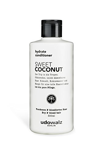 Udo Walz Hairfood Hydrating Conditioner Sweet Coconut, 1er Pack (1 x 300 ml)