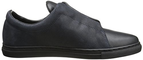Creative Recreation Turino Hommes Cuir Baskets Navy Black
