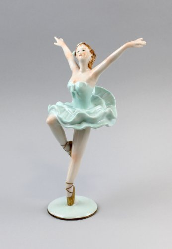 Porzellanfigur Tänzerin