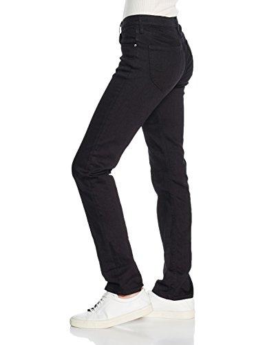 Lee Marion, Jeans da Donna Nero (Black Rinse)