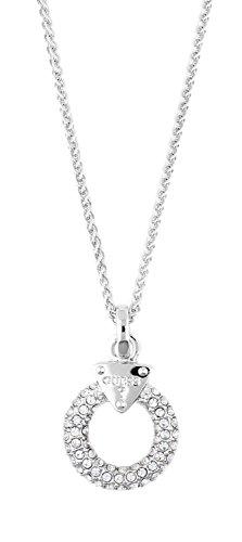 Guess Damen Halskette Metall Silber Embrace Me UBN71509