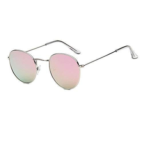 OULN1Y Sport Sonnenbrillen,Vintage Sonnenbrillen,Metal Round Vintage Sunglasses Women Mirror Classic Retro Street Beat Glasses Men Glasses Driving