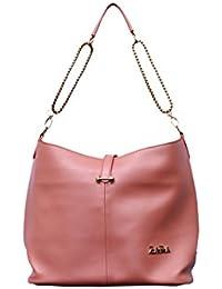 Trendy Hand Bag For Woman (Peach)