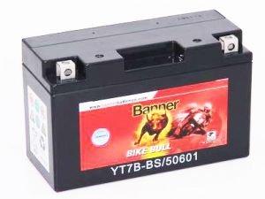 BANNER Motorradbatterie YT7-BBS wartungs