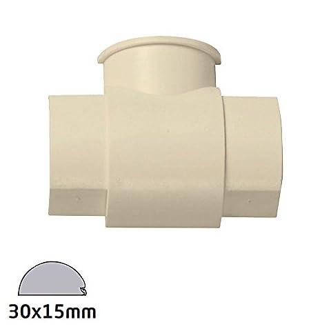 D-Line 30x 15mm–Boîte Adaptateur T-shirt–Magnolia