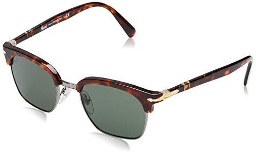 Ray-Ban Unisex-Erwachsene 24/31 Sonnenbrille, Braun (Havana/Green), 50